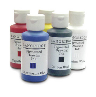 langridge pigmented inks