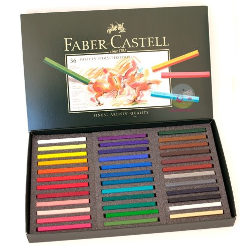 Faber castell Polychromo pastel sticks 36 set