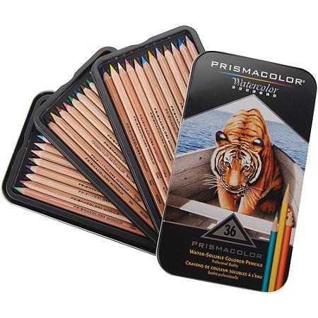 prismacolor watercolor pencil set