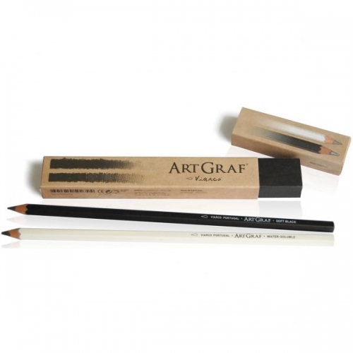 ARTGRAF LIMITED EDITION GRAPHITE PENCILS box of 2