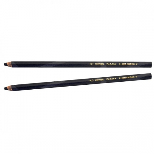 ARTGRAF VIARCO SOFT CARBON PENCIL 2 carded pack