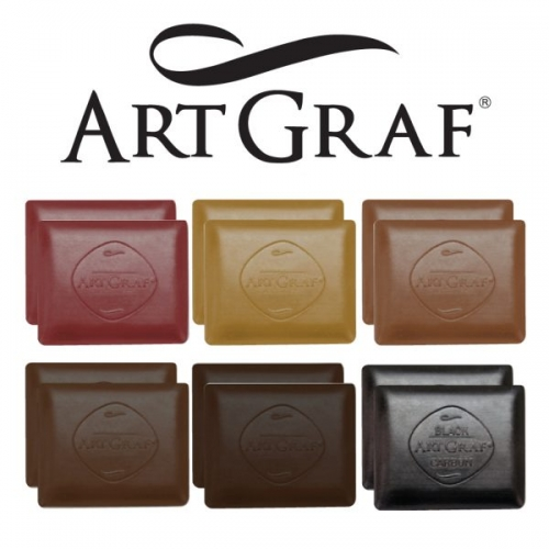 ARTGRAF WATERSOLUBLE CARBON DISC EARTHTONE SET 12
