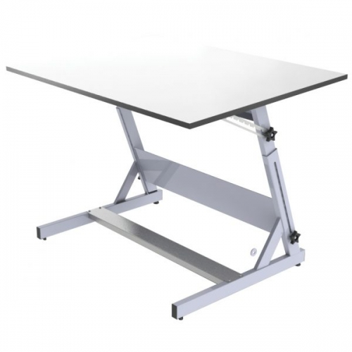 DRAWING STAND METAL With white drawing board