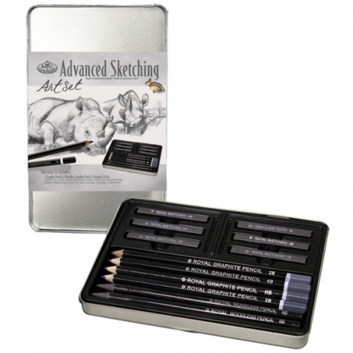 Royal Langnickel GRAPHITE SKETCHING SET NO. 2502