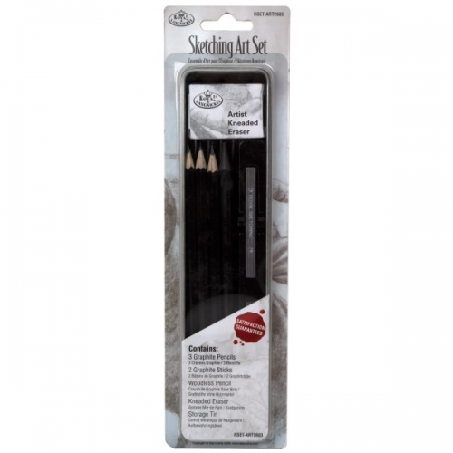 Royal Langnickel MINI TIN SET GRAPHITE PENCILS – SET NO. 2603