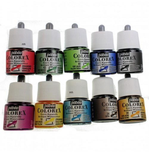 Pebeo Colorex inks 45 ml bottle
