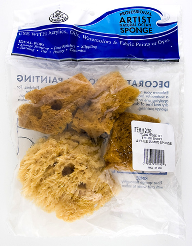 Artist sponge combination pack Royal Langnickel