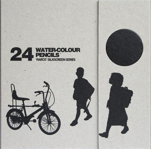 VIARCO WATERCOLOUR PENCILS 24 set