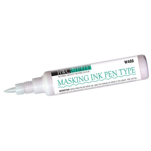 Holbein masking pen for watercolour