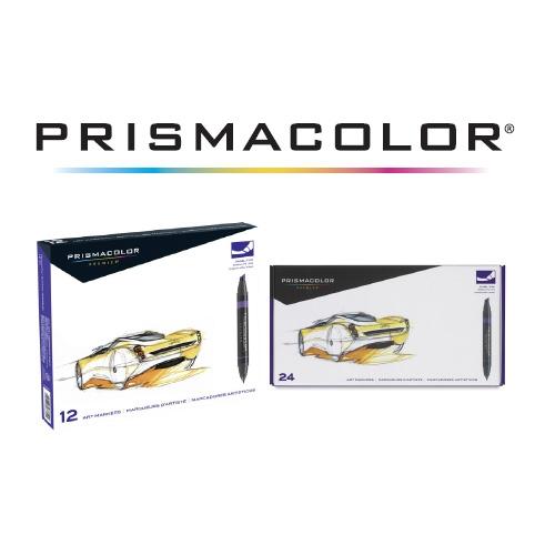 Prismacolor Dual Tip chisel, fine end Marker Sets