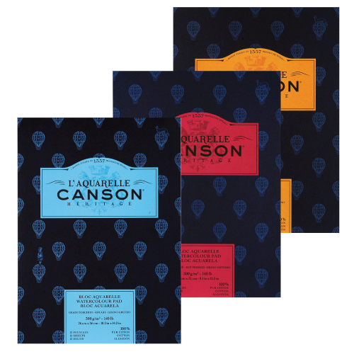 Canson Heritage pads 300gsm 15 sheet