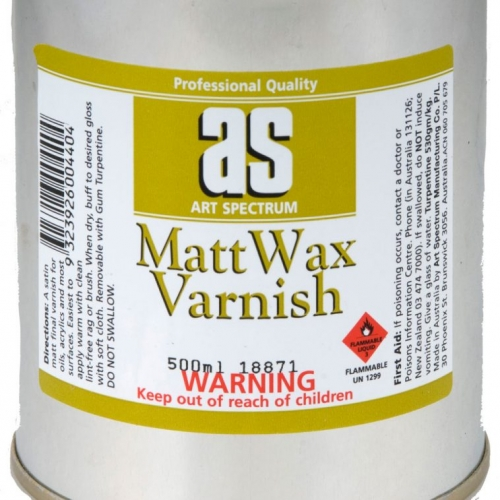 Art Spectrum Matt Wax Varnish