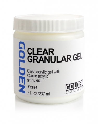 Clear Granular Gel Golden