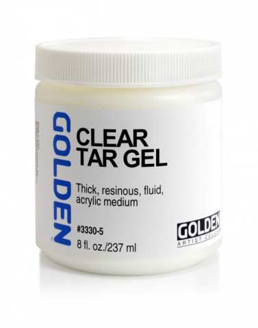 Clear Tar Gel Golden