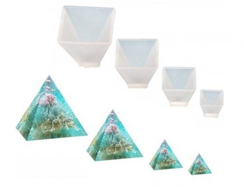 Pyramid Silicone Molds 4PCS 4