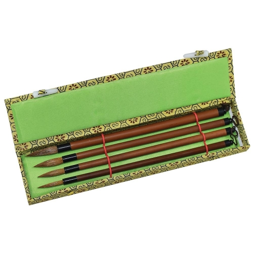 Bamboo Brush - Set of 4