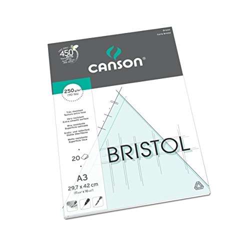 Canson-Bristol-250GSM-20-sheets-A3