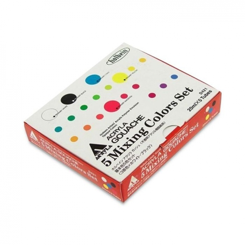 Holbein Acrylic Gouache Mixing Colors Set