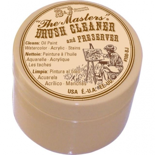 the masters brush cleaner and preserver medium