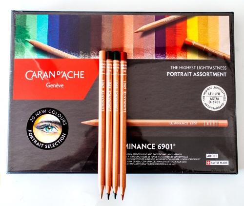 Caran D'ache Luminance Portrait Colours