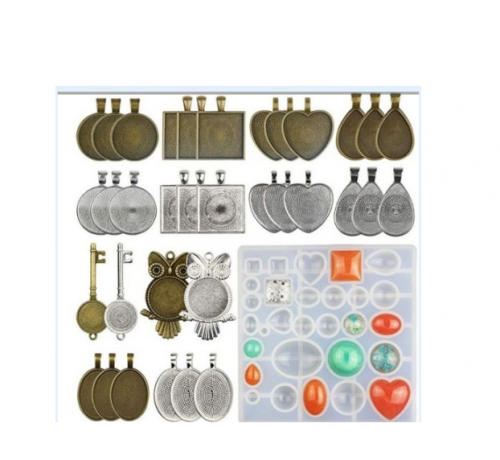 MAD 35pcs Jewellery Molds