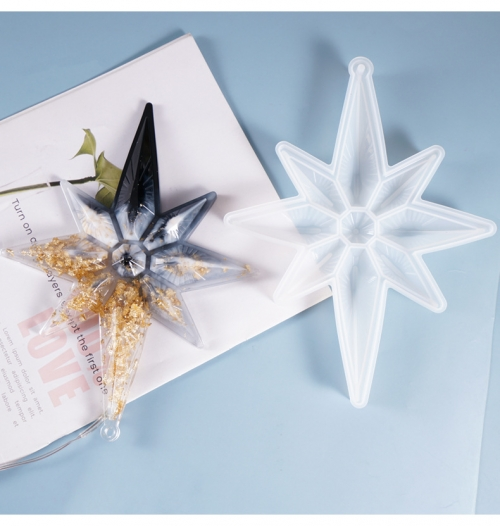 MAD Christmas Star Resin Mold