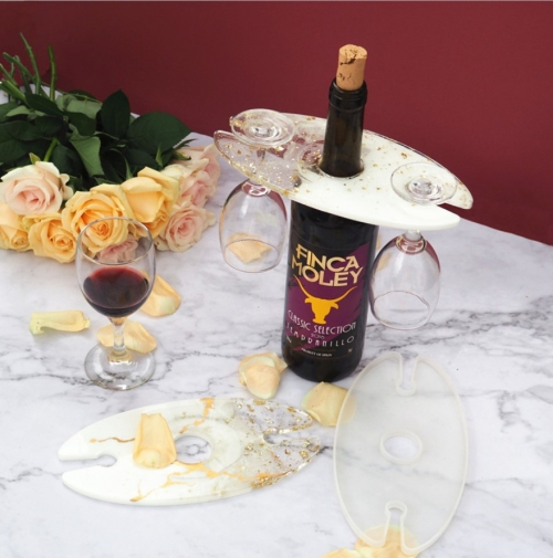 MAD Wine Butler Mold (holds 2 glasses)