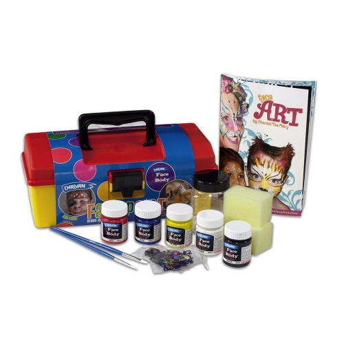 Derivan Face and Body Paint tool kit